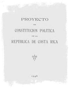 Proyecto de Constitución de la Junta